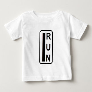 Running saves lives baby T-Shirt