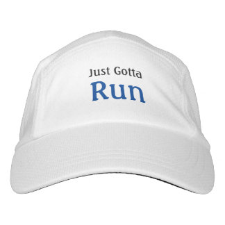 Running Slogan Just Gotta Run Hat