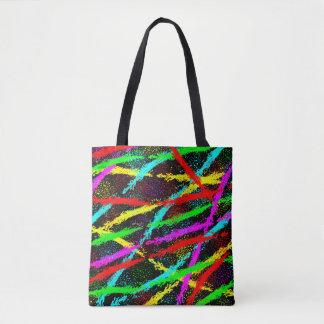 Running Splatter Tote Bag