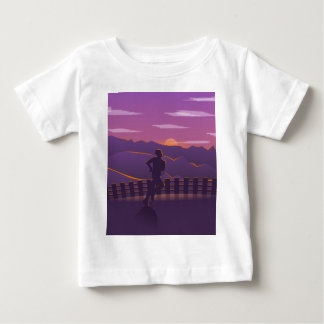 Running sunrise baby T-Shirt