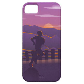 Running sunrise case for the iPhone 5