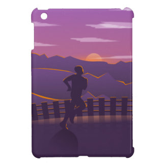 Running sunrise iPad mini covers