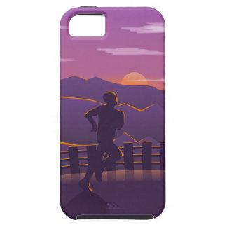 Running sunrise iPhone 5 cases