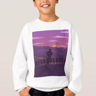 Running sunrise sweatshirt