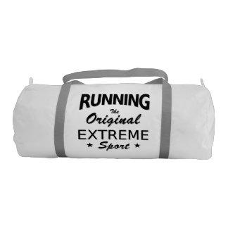 RUNNING, the original extreme sport. (blk)