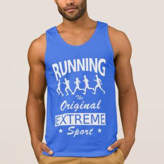 RUNNING, the original extreme sport (wht)