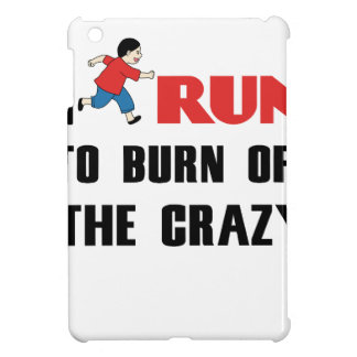 running to burn off the craziness cover for the iPad mini