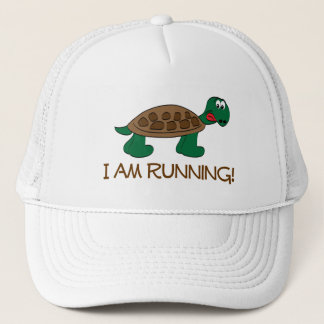 Running Tortoise Trucker Hat