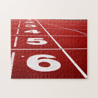 Running Track Jigsaw Puzzle