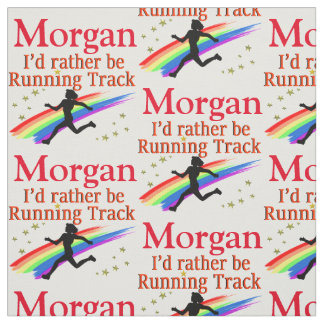 RUNNING TRACK PERSONALIZED FABRIC
