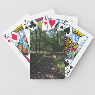 Running Trails are the best Trails Bicycle Playing Cards