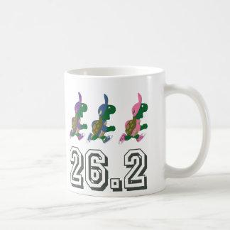 Running turtles 26.2 coffee mug