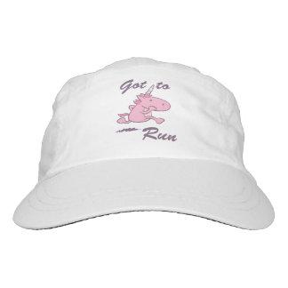 Running Unicorn Hat