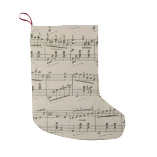 Running Waltz Christmas Stocking