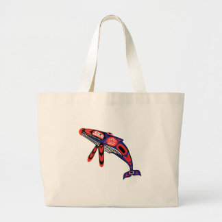 Running Waters Large Tote Bag