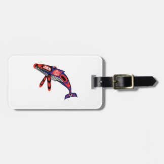 Running Waters Luggage Tag
