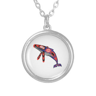 Running Waters Silver Plated Necklace