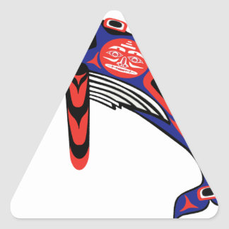 Running Waters Triangle Sticker