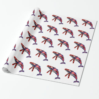 Running Waters Wrapping Paper