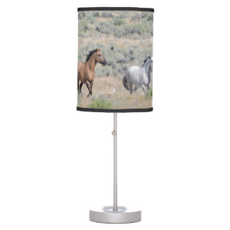 Running Wild and Free Table Lamp