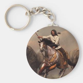 Running With Buffalo Keychain