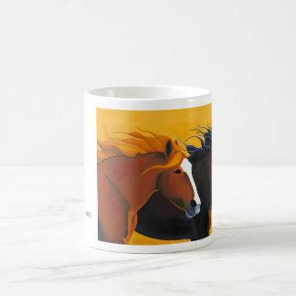 Running with the Wind coffee mug