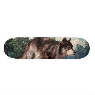 Running Wolf Skate Board