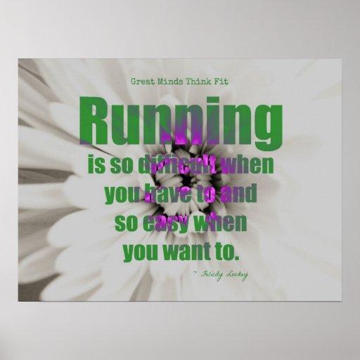 RunningGreen! Posters
