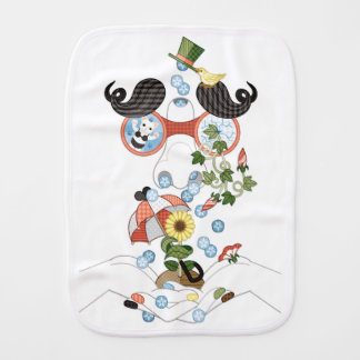Runny nose of grace (remake) burp cloth