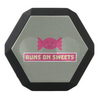 Runs in Sweets funny Z9s1b Black Bluetooth Speaker
