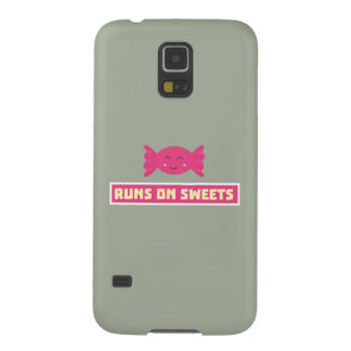 Runs in Sweets funny Z9s1b Galaxy S5 Case