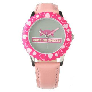 Runs in Sweets funny Z9s1b Watch