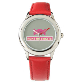 Runs in Sweets funny Z9s1b Watches