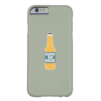Runs on Beer Bottle Zcy3l Barely There iPhone 6 Case