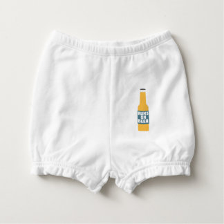 Runs on Beer Bottle Zcy3l Diaper Cover