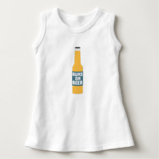 Runs on Beer Bottle Zcy3l Dress