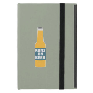 Runs on Beer Bottle Zcy3l iPad Mini Cover