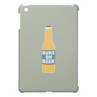 Runs on Beer Bottle Zcy3l iPad Mini Covers