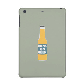 Runs on Beer Bottle Zcy3l iPad Mini Retina Case