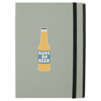 "Runs on Beer Bottle Zcy3l iPad Pro 12.9"" Case"