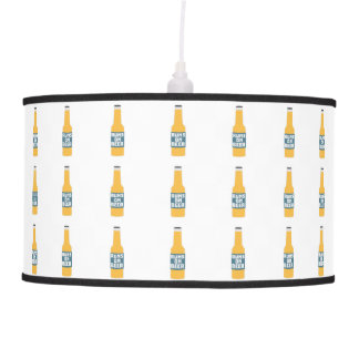 Runs on Beer Bottle Zcy3l Pendant Lamp