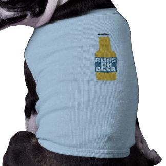 Runs on Beer Bottle Zcy3l Shirt