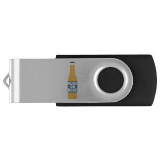 Runs on Beer Bottle Zcy3l USB Flash Drive