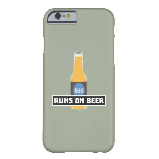 Runs on Beer Z7ta2 Barely There iPhone 6 Case