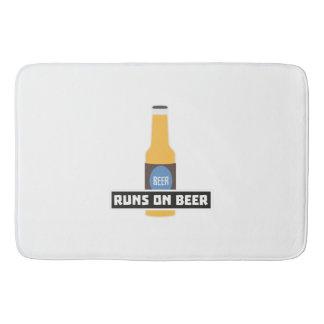 Runs on Beer Z7ta2 Bath Mat