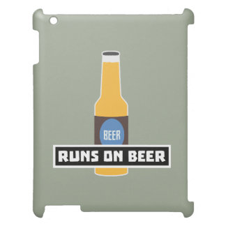 Runs on Beer Z7ta2 Case For The iPad 2 3 4
