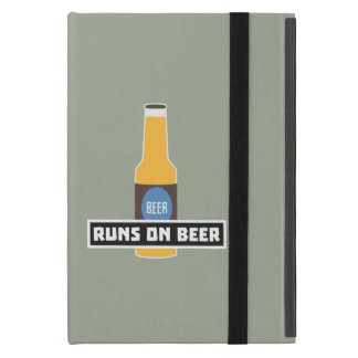 Runs on Beer Z7ta2 Cover For iPad Mini