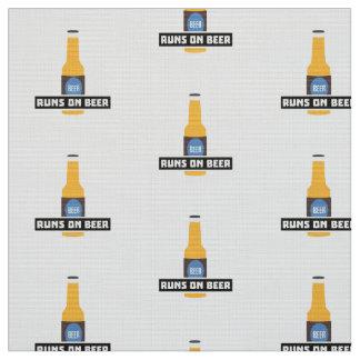 Runs on Beer Z7ta2 Fabric