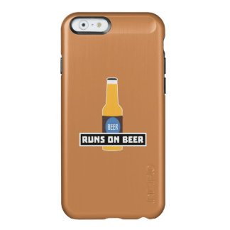 Runs on Beer Z7ta2 Incipio Feather® Shine iPhone 6 Case
