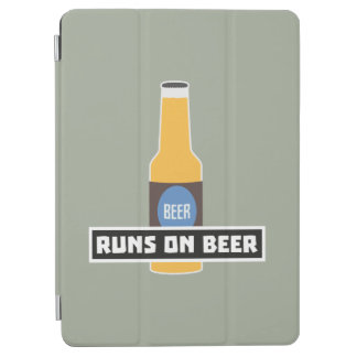 Runs on Beer Z7ta2 iPad Air Cover
